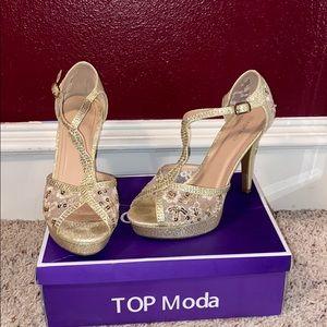 TOP Moda high heels